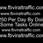 $250 Per Day By Doing Some Tasks Online