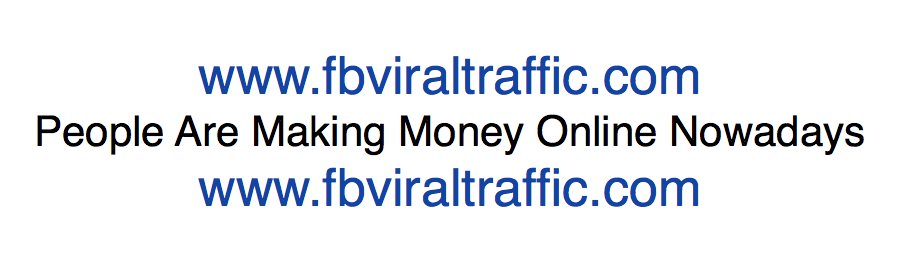 People Are Making Money Online Nowadays