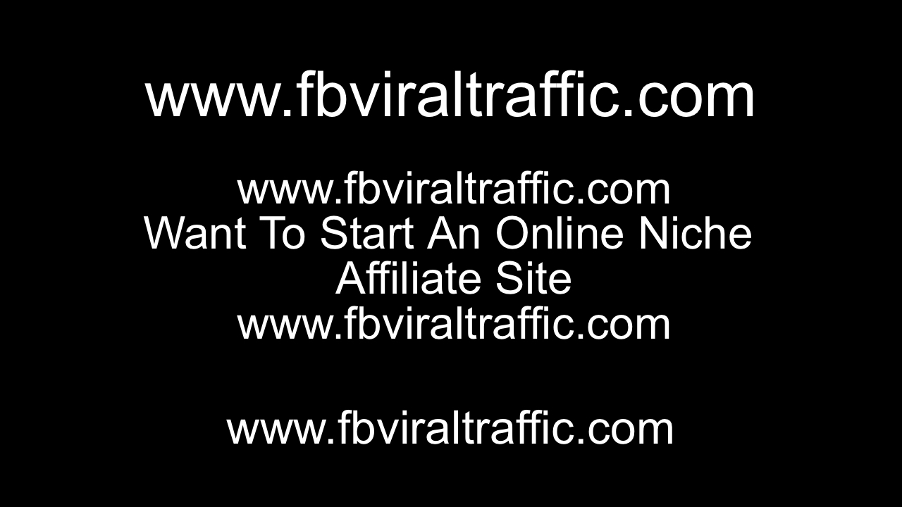 Want To Start An Online Niche Affiliate Site