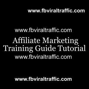 Affiliate Marketing Training Guide Tutorial