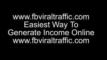 Easiest Way To Generate Income Online
